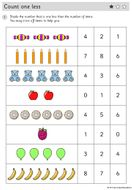 Year-1---WORKSHEETS---One-less.pdf