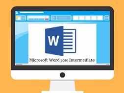 microsoft word intermediate training manual by resource creator