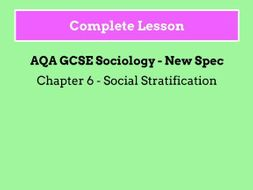 factors of social stratification