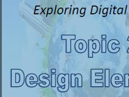 ICT Exploring Digital Design: Design Elements