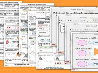 Year 6 Rounding Numbers Autumn Block 1 Step 3 Lesson Pack