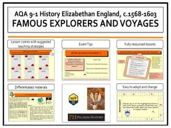 Elizabethan explorers and voyages of discovery