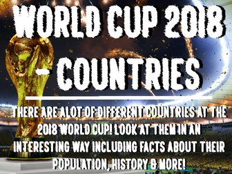World Cup 2018 - Countries
