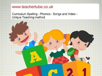 Phonics lesson21-  trigraph u*e     /// unique method with video and song
