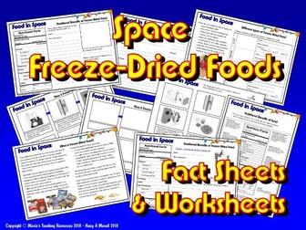 Food in Space / KS1&2 / Freeze-Dried Foods
