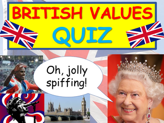 British Values Quiz