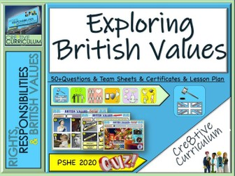 Exploring British Values Quiz