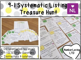 9-1 Systematic Listing Foundation (Treasure Hunt)