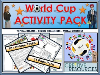 Football World Cup Activity Pack