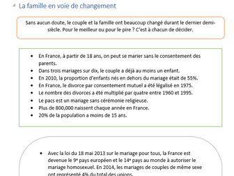AS level French Revision Booklet