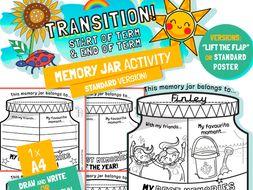 Memory Jar Activity Sheet