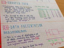 IB Maths Studies SL - Complete Notes