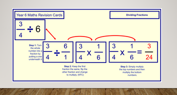 KS2 SATs Revision Cards for Mental Arithmetic