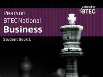 Personal and Business Finance - Revision notes