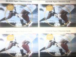AQA GCSE PE Revision Cards Paper 2