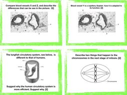 OCR Combined Science GCSE Revision cards