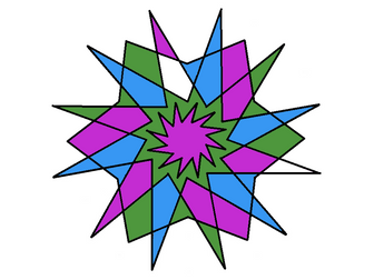 Colour by multiples 4 and 6 with extension