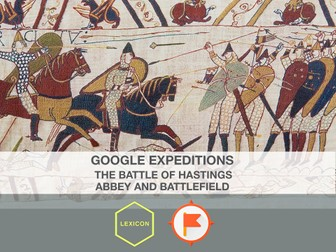 1066 Battle of Hastings, Abbey and Battlefield #GoogleExpeditions Lesson