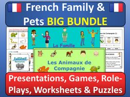 French Family and Pets