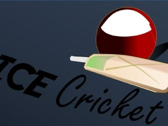 Dice Cricket Maths Game