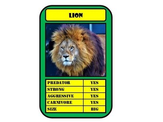 Top Trump Cards Template2 Publisher