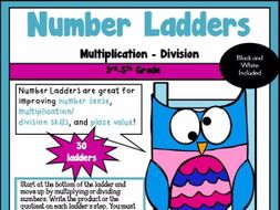 Number Ladders- Multiply and Divide
