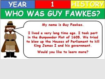 KS1 History - Who was Guy Fawkes?