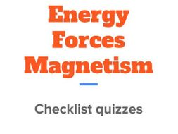 AQA GCSE Physics Energy, forces and magnetism quizzes