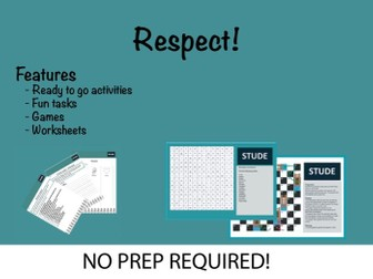Respect KS3 Resource Pack