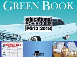 Green Book Movie Guide | Questions | Worksheet (PG13 - 2018)