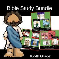 Bible Study for Kids BUNDLE #1