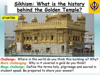 Sikhism : The Golden Temple