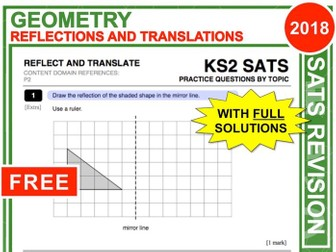 KS2 Maths (Reflections + Translations)