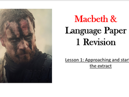 Online Revision Lessons - Macbeth