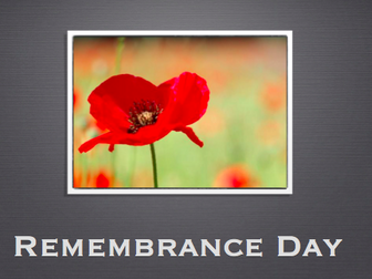 Remembrance Day Activity Pack - Writing Poems & More - Nov 2017 UPDATE