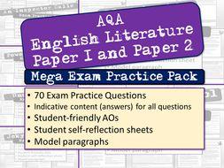 English Literature Exam Practice Questions