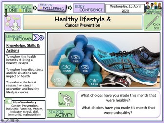 Healthy Lifestyles + Cancer Prevention