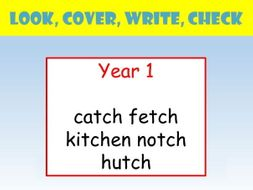 Y1 english spelling powerpoint look cover write check tch presentation ccuart Choice Image