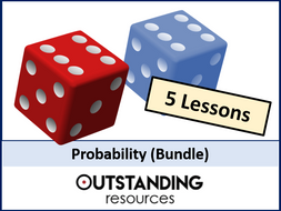 Probability BUNDLE (5 lessons)