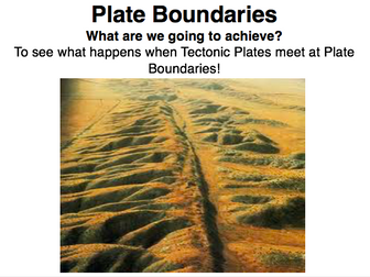 IGCSE Edexcel Geography - Hazardous Environments - Plate Boundaries