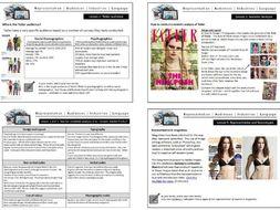Tatler GCSE Media Studies Magazine CSP