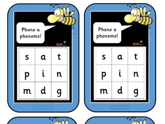 Phoneme and word phones for phase 2 phonics