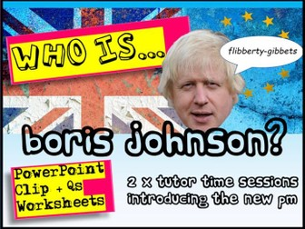 Boris Johnson + Brexit
