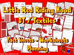 DT / Textiles / Little Red Riding Hood