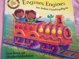 Engines Engines an indian counting rhyme - powerpoint story