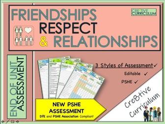 Friendships Respect + Relationships - PSHE