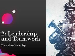 Unit 2: Leadership & Teamwork in the Public Services (Full Unit with SOW, PowerPoints & Resources)