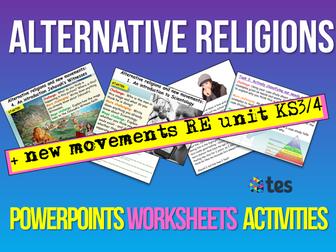 Alternative Religions + Cults