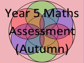 Year 5 Maths Assessment and Tracking (AUTUMN)