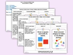 Year 1 Shape Autumn Block 3 Continuous Provision Activities